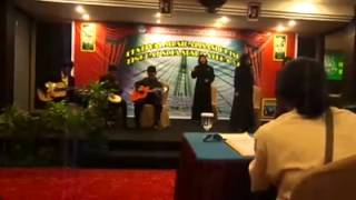 Musikalisasi Puisi Komunitas Seni Nan Tumpah Padang - JEMBATAN (Puisi Sutardji Calzoum Bachri)