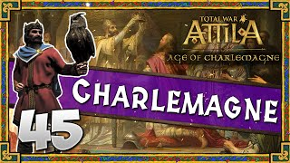 CHASING A KING! Total War: Attila - Age of Charlemagne - Holy Roman Empire Campaign #45