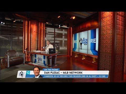 MLB Network Analyst Dan Plesac Talks Dodgers Downfall, Yankees on The Rise & More - 9/19/17