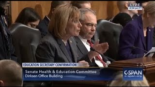 Download MP4 Videos - DeVos Refuses to Answer Senator Hassan's Question on Protecting Students with Disabilities