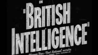 Trailer - British Intelligence (1940)