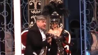 И. Штраус. Дуэт Розалинды и Генриха из оперетты «Летучая мышь» - исп. Наталья М. и М. Королев.