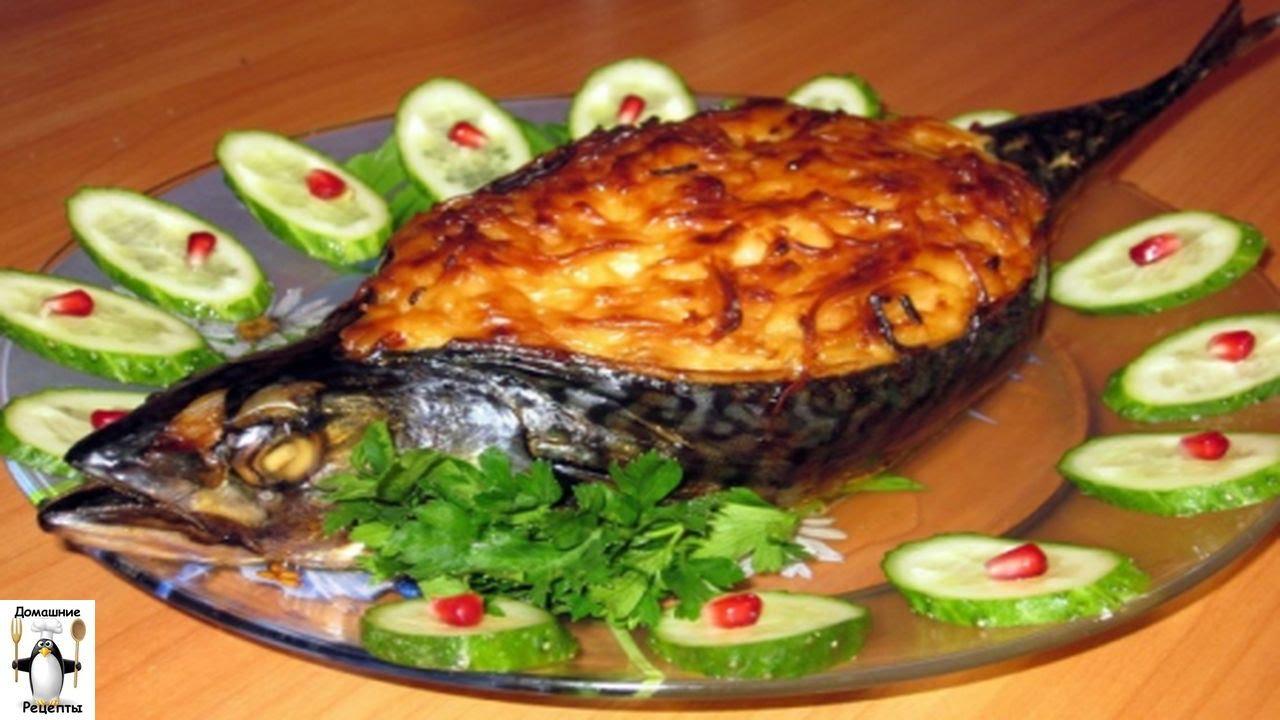 фото Блюда с из скумбрии