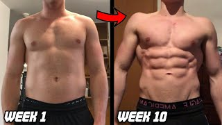 Motivational 10 Week Body Transformation   Step by Step