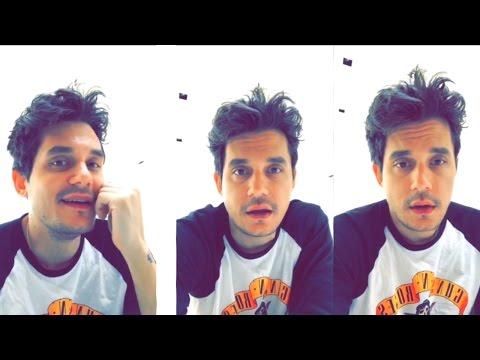 John Mayer Singing On Snapchat | John Mayer Newest Snapchat Video