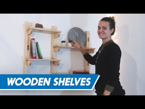 MazingDIY: Wooden Shelves