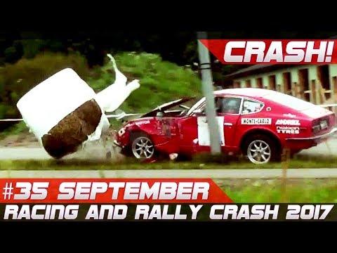 Racing and Rally Crash Compilation Week 35 September 2017