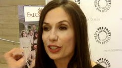 Ana Alicia at Falcon Crest reunion (Paley Center)