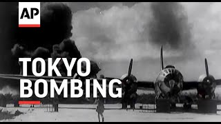 Tokyo Bombing - 1944 | Movietone Moment | 27 November 2020