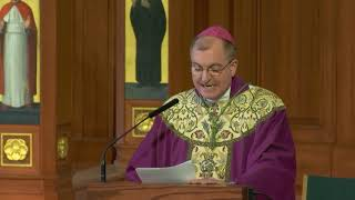Bishop Barres' Homily for the 5th Sunday in Lent