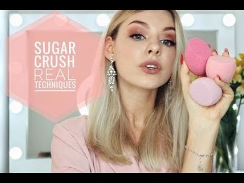 Real Techniques SUGAR CRUSH Miracle Finish Makeup Sponge Review
