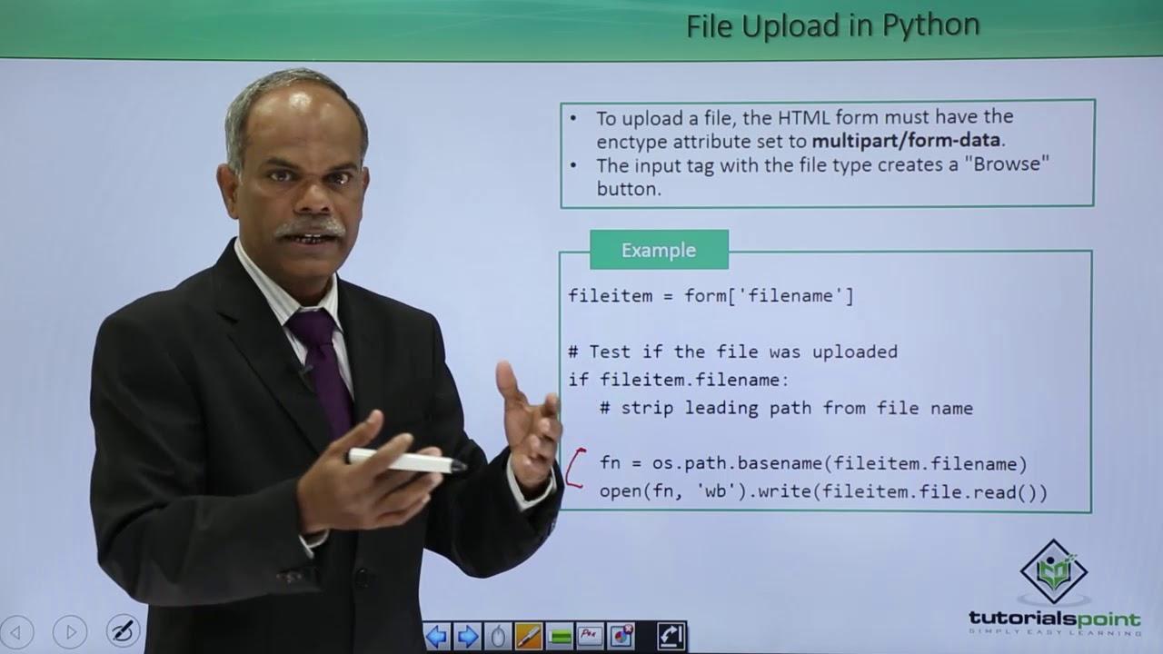 Python - File Upload