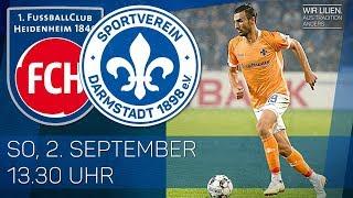 1. FC Heidenheim - SV Darmstadt 98   Franke trifft bei Liliensieg   Highlights   4. Spieltag 2.BuLi