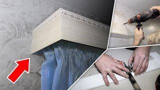 видео Как повесить шторы своими руками качественно и быстро