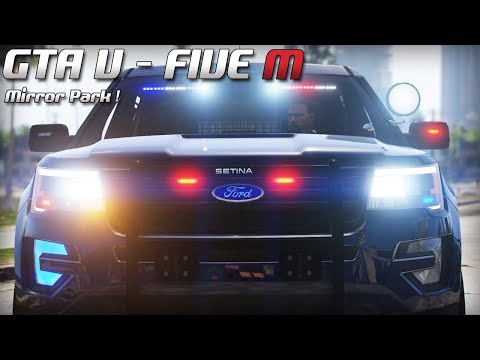 GTA 5 - Law Enforcement Live - Mirror Park ! (Five M)