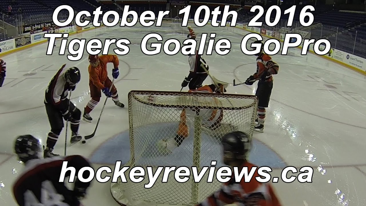 October 10th 2016 Tigers Goalie Gopro  Youtube. Bowel Signs. Alphabet Spanish Lettering. Emblem Stickers. Video Logo. Gift Bag Stickers. Baby Blues Signs. School Logo. Dia Murals