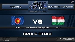 NationsCup XVII - Group Stage - Asean+3 vs Austria-Hungary