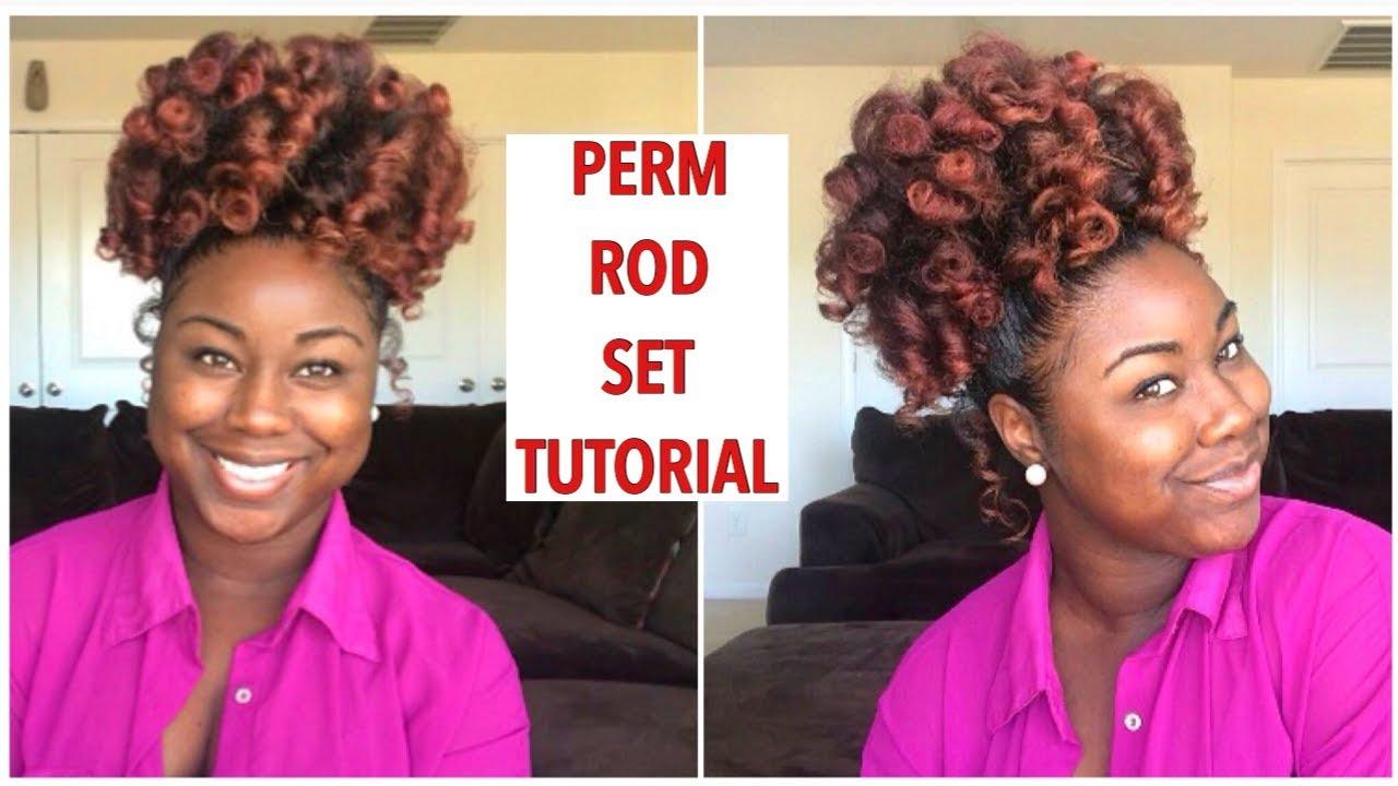 Perm rods on natural hair tutorial beginner friendly youtube perm rods on natural hair tutorial beginner friendly solutioingenieria Images