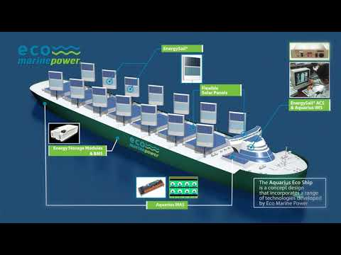 Eco Marine Power - renewable energy technologies for low emission shipping.