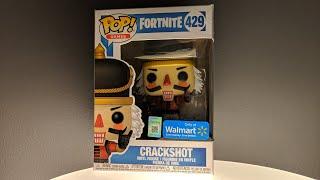 Fortnite - Crackshot Walmart Exclusive Funko Pop Unboxing
