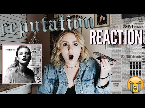 Download Youtube: TAYLOR SWIFT REPUTATION ALBUM REACTION
