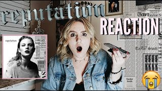 TAYLOR SWIFT REPUTATION ALBUM REACTION