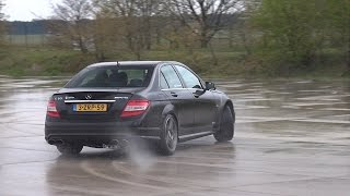 Mercedes-Benz C63 AMG w/ iPE Exhaust! Drifts, Burnouts & More!