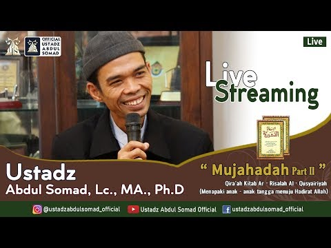 "live-streaming- -""-qira'ah-kitab-arrisalah-al-qushairiyyah-(-mujahadah-) -live---pekanbaru,-riau"