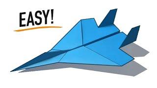 Cara Membuat Pesawat Jet Dari Kertas Simple