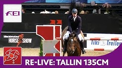 Re-Live | Day 3: Tallinn International Horse Show | Class 135 cm | presented by Cramo