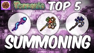 Terraria Top 5 Summoning Weapons | New Weapons 1.2