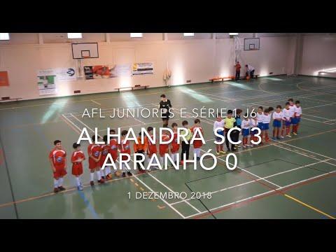 Alhandra SC 3 - 0 Arranhó