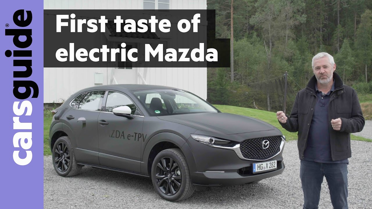Mazda Ev Review Electric Car Preview
