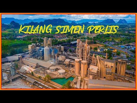 Cement Industries of Malaysia Berhad (CIMA) @ Kilang Simen Perlis, Dji Mavic Pro #13