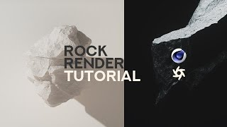How to Make Rock Renders in Cinema 4D and Octane (Tutorial)