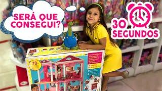 30 SEGUNDOS NA LOJA DE BRINQUEDOS I Dudinha Show