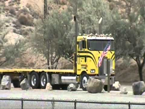 Cabover Trucks For Sale >> Peterbilt Cabover, Hay Hauler in Nevada - YouTube