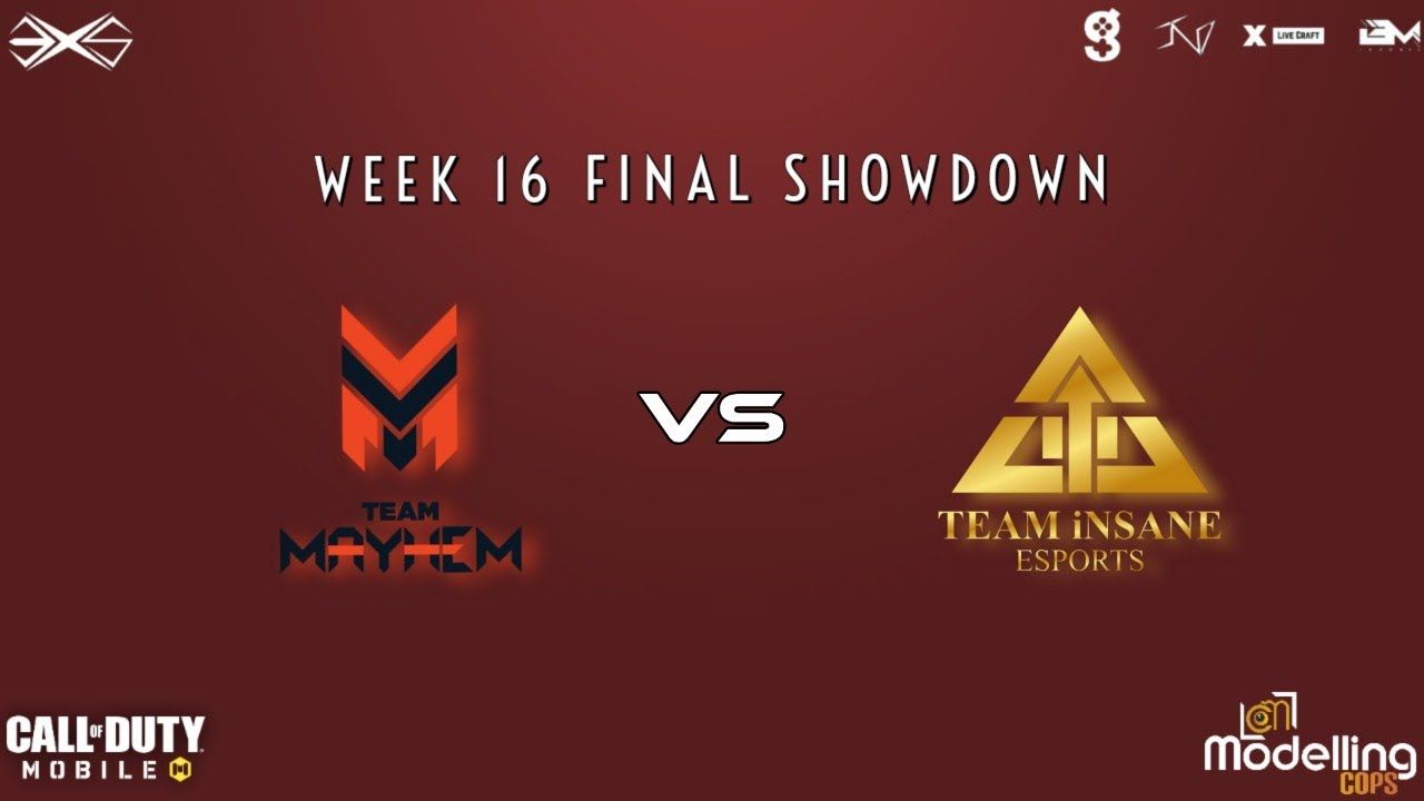 [COD MOBILE] EXS powered by IND, Modelling Cops & game.tv | Week 16 | Grands Finals
