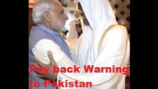 UAE Unprecedented Protocol to PM Modi is Pay back Warning for Pakistan