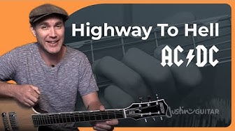 How to play Highway To Hell by AC/DC (Guitar Lesson SB-322)