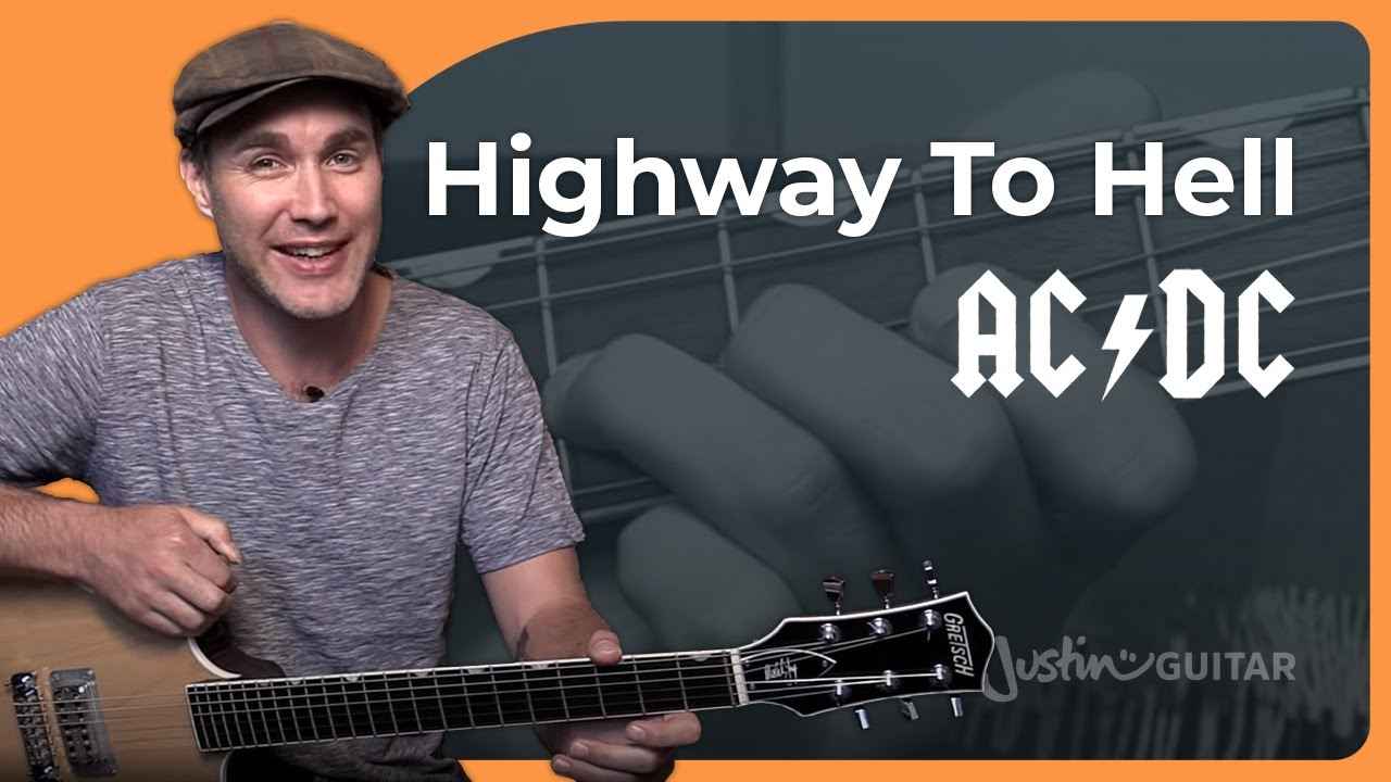 How To Play Highway To Hell By Acdc Guitar Lesson Sb 322 Youtube