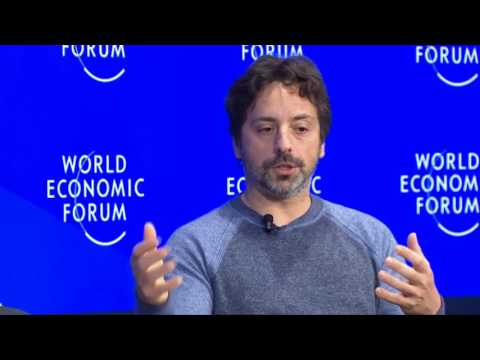 Davos 2017 - An Insight, An Idea with Sergey Brin