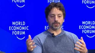 Davos 2017 - An Insight, An Idea with Sergey Brin