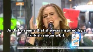 "Download Video Adele Is In Trouble - Has She Stolen Ahmet Kaya's Song ""Acilara Tutnmak""? MP3 3GP MP4"