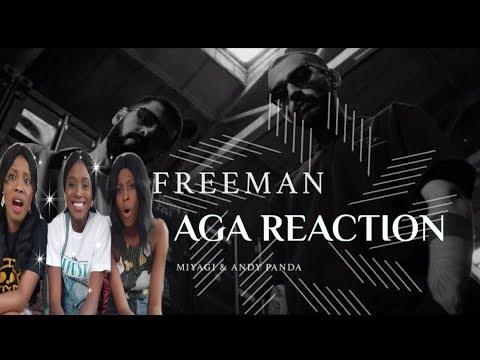 Miyagi & Andy Panda - Freeman реакция (Official Video) по African Girls & Asia (AGA)