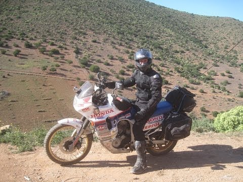 [Slow TV] Motorcycle Ride - Morocco - The tracks of Mirleft