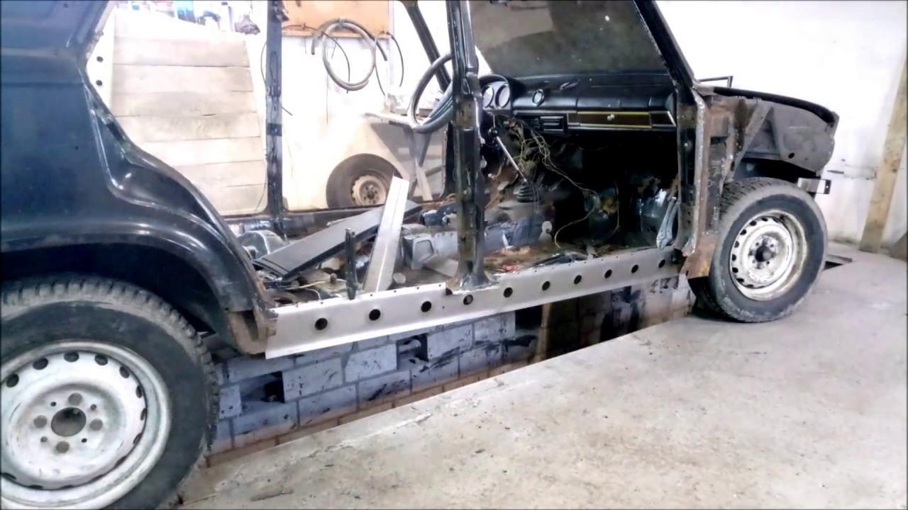 Ремонт кузова ваз 2106 своими руками. Сварка, кузовной ремонт!