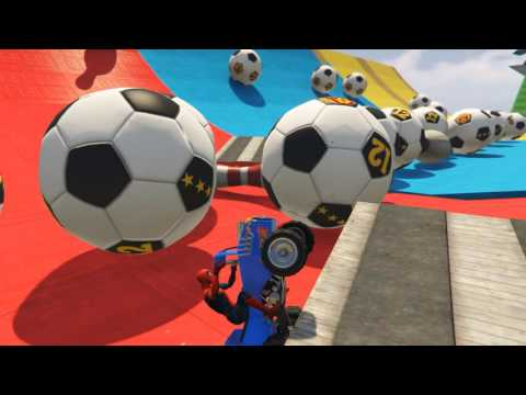 Thumbnail: FUN COLOR Little Cars on The Beach Ball Pit Superheroes Learn Colors For Children