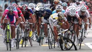 Падения в современном велоспорте.