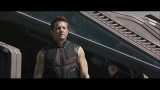 Hawkeye/ Clint Barton Fight Scenes ( Avengers: AOU and CA: Civil War)
